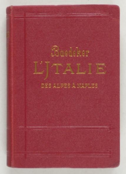 http://shop.berlinbook.com/reisefuehrer-baedeker-franzoesische-ausgaben/baedeker-karl-l'italie::2625.html