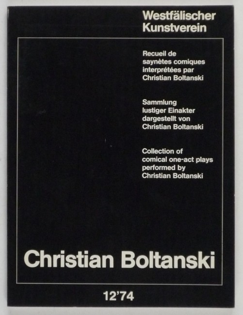 http://shop.berlinbook.com/fotobuecher/boltanski-christian-ecueil-de-saynetes-comiques-interpretees-par-christian-boltanski-sammlung-lustiger-einakter-dargestellt-von-christian-boltanski-collection-of-comical-one-act-plays-performed-by-christian-boltanski::8805.html