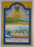 Johannesburg, South Africa. Issued unter the joint auspices of Johannesburg Municipality and South African Railways and Harbours Administration.
